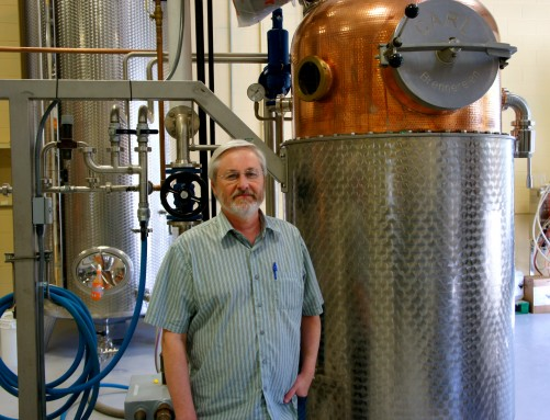 Kris Berglund of Michigan State University's distilling program