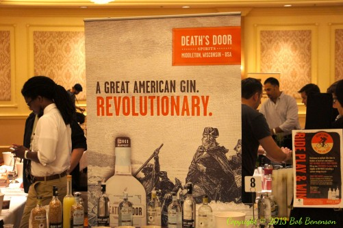 The Independent Spirits Expo in Chicago Sept. 25 featured products from dozens of craft distilleries, including Death's Door of Middleton, Wis.