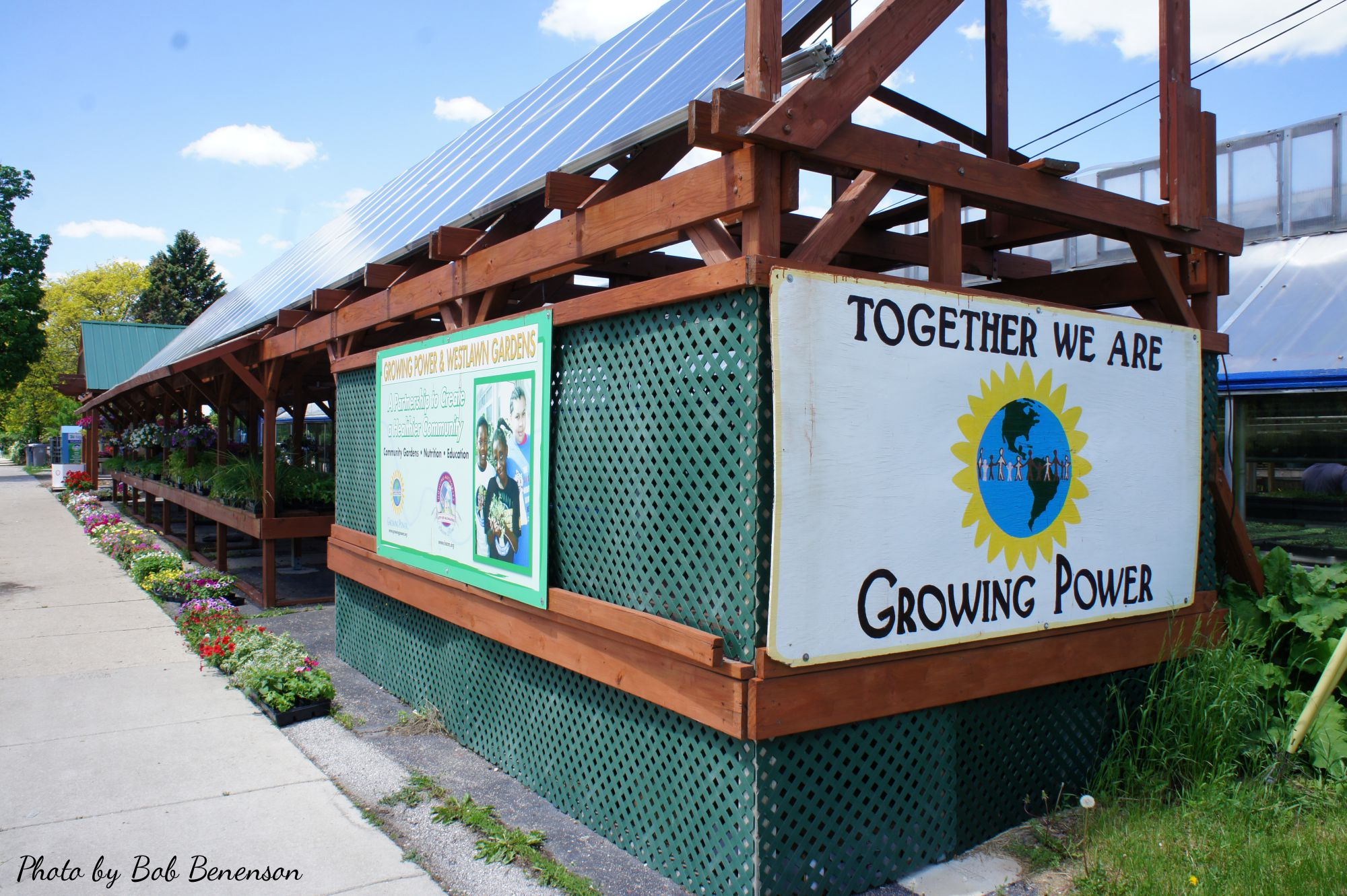 Headquarters/urban farm of Growing Power in Milwaukee, Wis.