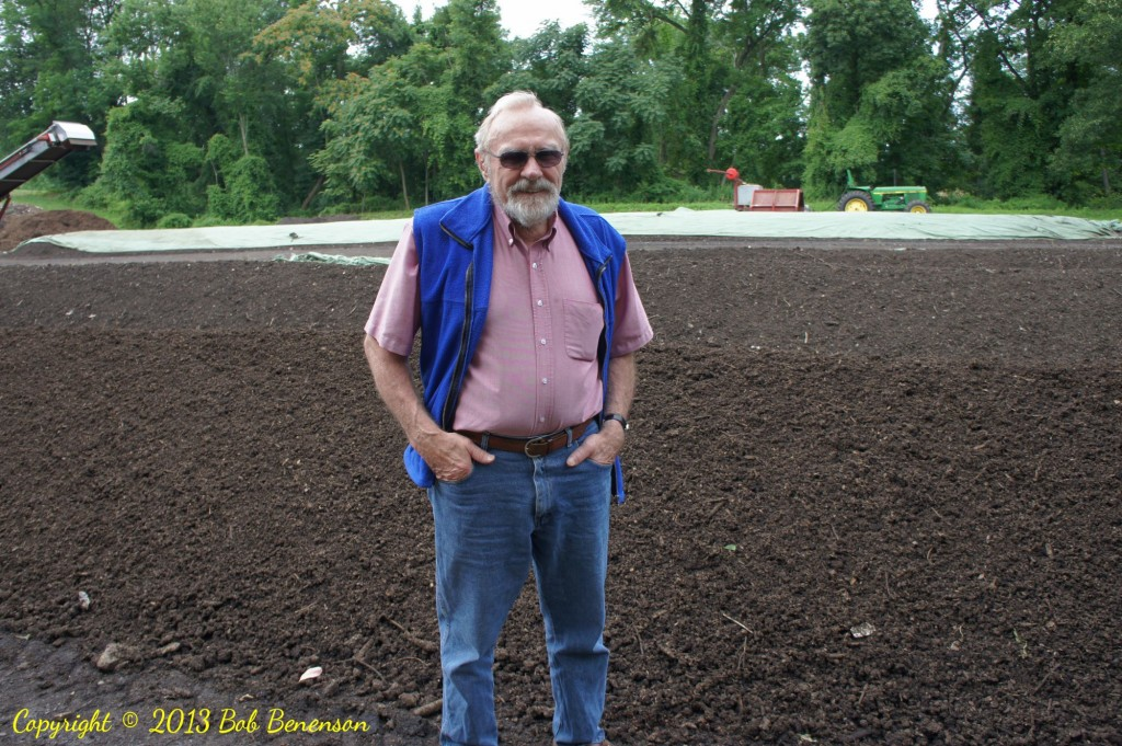 Fred Kirschenmann, the longtime organic farmer who is president of Stone Barns Center, is a leading advocate of using compost to enrich farm soil