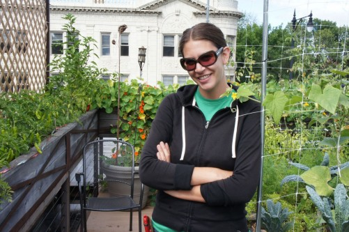 Jen Rosenthal, rooftop farmer at Chicago's Uncommon Ground