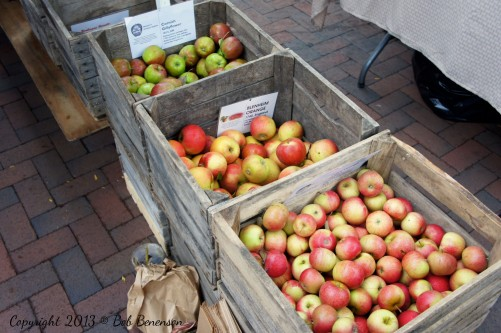 Heirloom apple varieties from Weston's Antique Apple Orchard