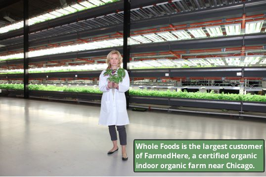 Whole Foods Market and FarmedHere