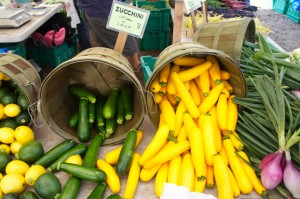 Summer squash at Chicago's Green City Market