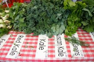 Greens at Chicago's Green City Market