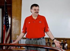 Bourbon historian Michael Veach