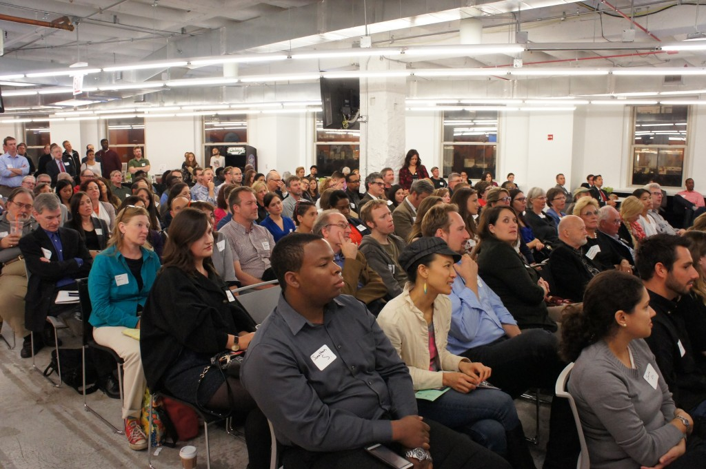 FamilyFarmed's Good Food Business Accelerator event on Oct. 1 at the 1871 business incubator.