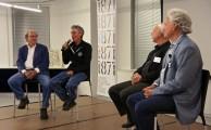 Enterpreneur panel at FamilyFarmed's Good Food Business Accelerator event