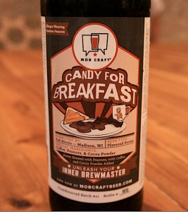 Candy for Breakfast beer by MobCraft brewery