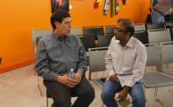 Raj Karmani of Zero Percent (right) and Michael Bashaw of Whole Foods Market