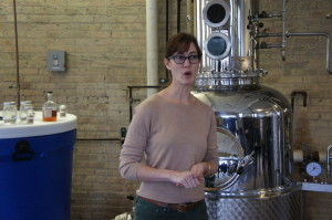 Sonat Birnecker Hart of Chicago's Koval Distillery