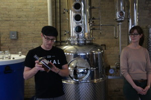 Robert Birnecker and Sonat Birnecker Hart of Chicago's Koval Distillery