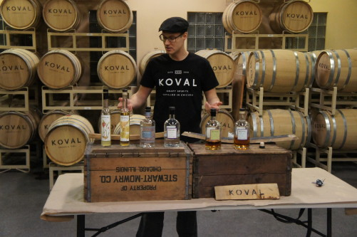 Robert Birnecker of Chicago's Koval Distillery
