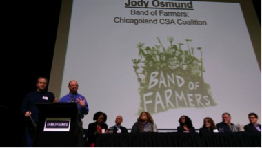 Band of Farmers at the Good Food Festival & Conference