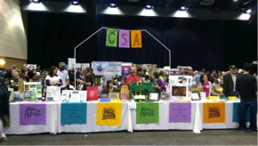 CSA Pavilion at Good Food Festival