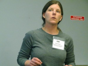 Anita Poeppel of Broad Branch Farm and the Spray Drift Education Network