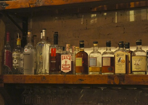 Local spirits at Farmhouse Tavern