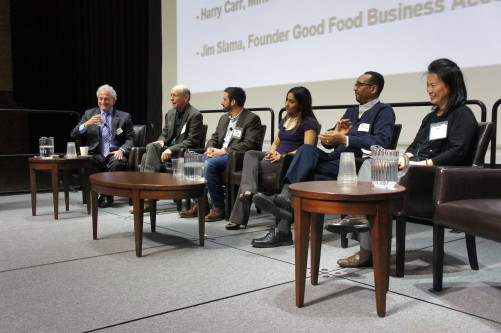 Good Food Business Accelerator panel