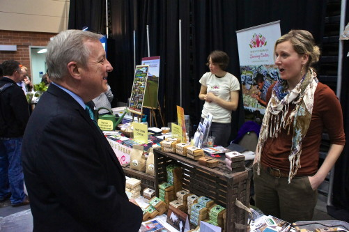 Sen. Richard J. Durbin visit to Good Food Festival & Conference