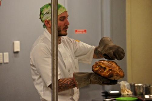 Baker Greg Wade Master Class at Good Food Festival