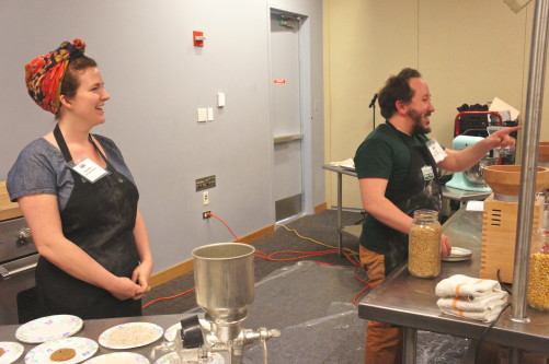 Dave and Megan Miller of Baker Miller at the Good Food Festival