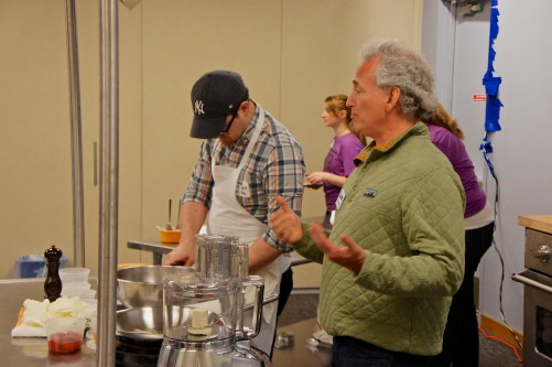 Rob Levitt and Jim Slama at the Good Food Festival