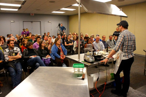Rob Levitt charcuterie workshop at the Good Food Festival