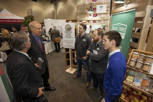 Gov. Bruce Rauner visit to Good Food Festival & Conference