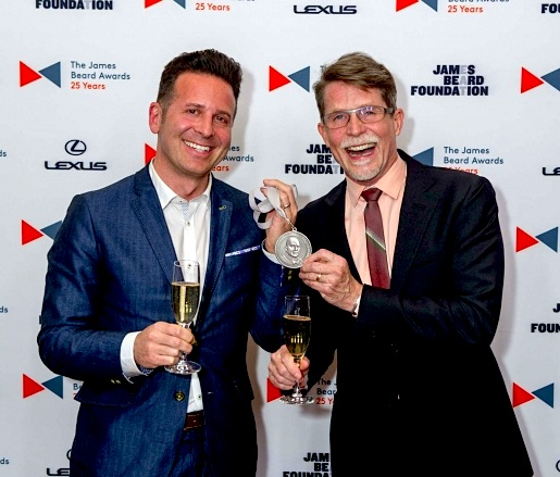 Rick Bayless with 2015 James Beard Awards