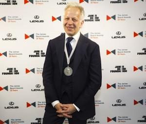 Donnie Madia with 2015 James Beard Award