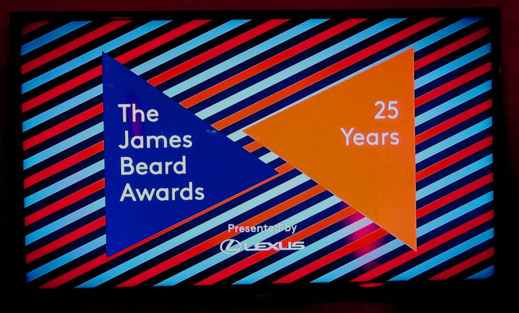 James Beard Awards 2015 logo