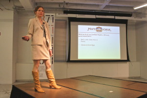 Raya Carr at Good Food Business Accelerator