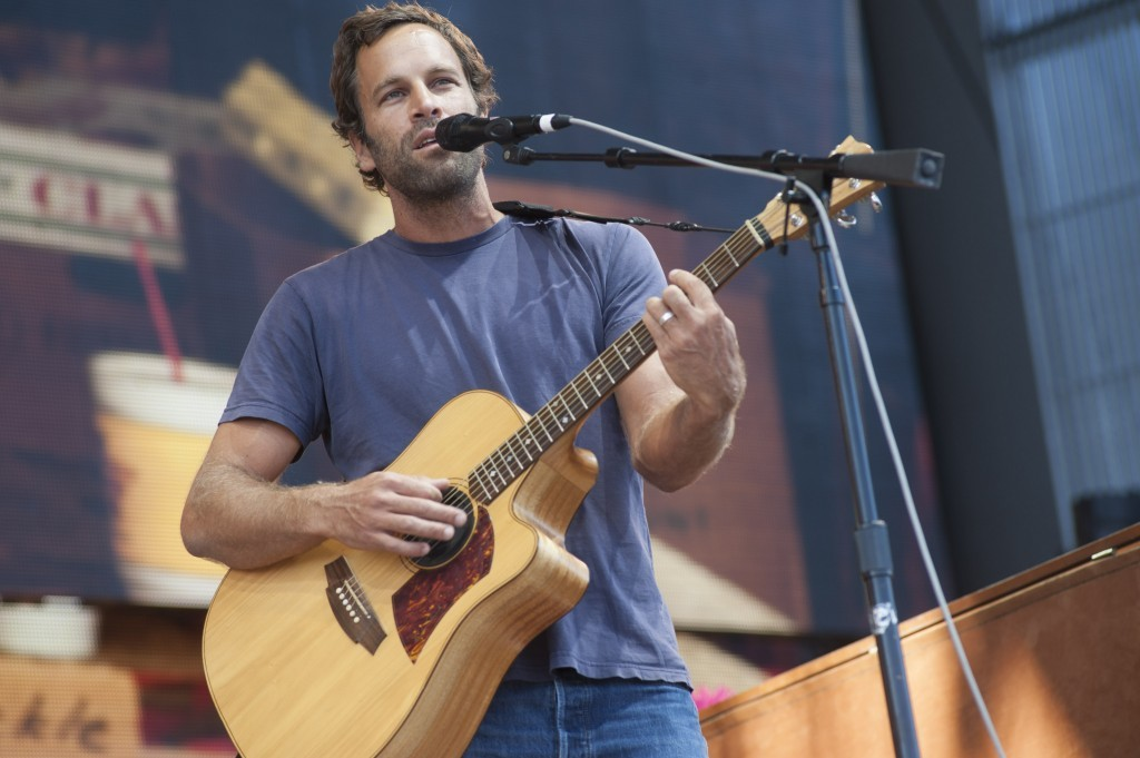 Jack Johnson at Farm Aid 30