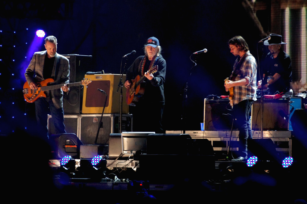 Willie Nelson at Farm Aid 30