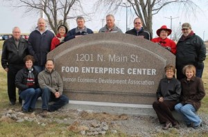 Since opening in late 2012, the Food Enterprise Center in Viroqua, Wisconsin has added 14 tenants employing 45 people. It's a new local food focused strategy for the county's economic development organization. Photo: Driftlessnotes.com