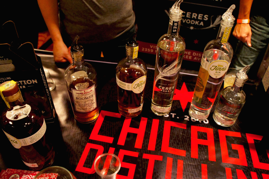 Chicago Distilling Company, located in the city's Logan Square neighborhood, uses organic grain grown in Illinois in its whiskey, gin and vodka.