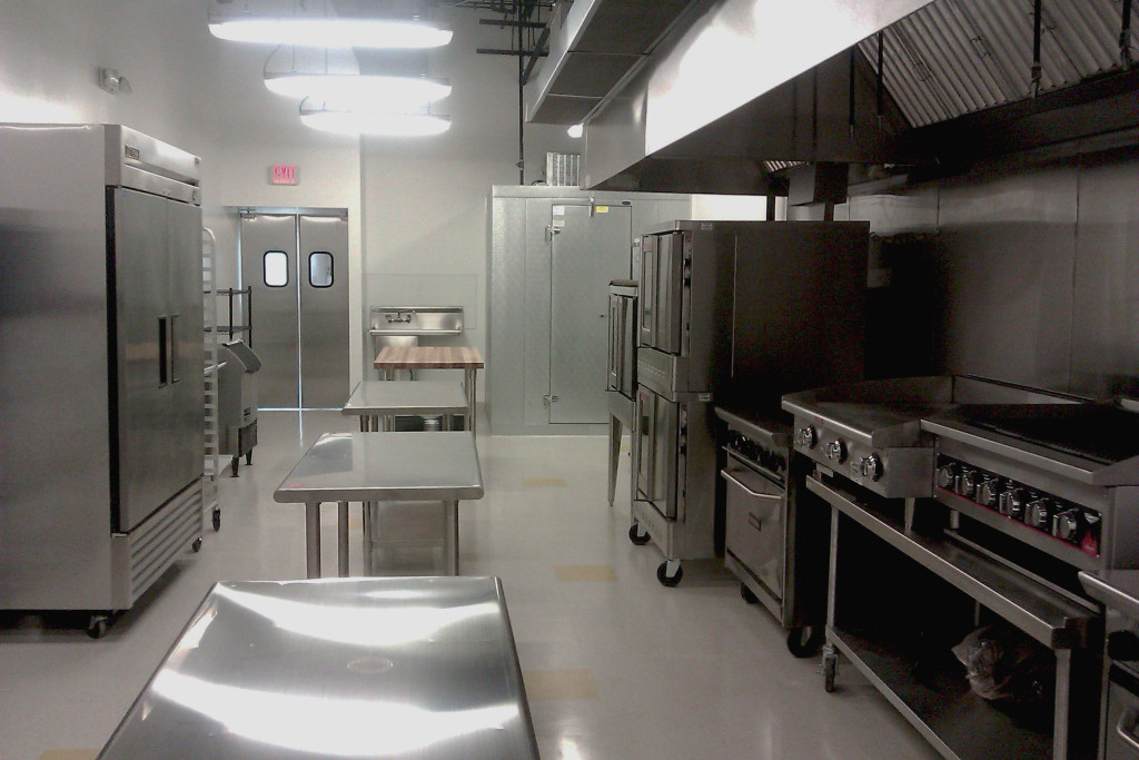 Community kitchens, such as those at SAAGE Culinary Studio in suburban Chicago, provide startup food companies with the commercial-grade equipment they need to make their products, enabling them to defer big capital expenses until they get their businesses up and running. Photo provided by SAAGE Culinary Kitchen.