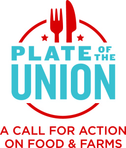 The Plate of the Union campaign seeks to persuade candidates in the 2016 elections to talk about how they would improve the nation's food system.