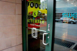 Along with its meal delivery, catering and supermarket retailing operations, Kitchfix sells prepared meals and snacks in its own store in the Gold Coast neighborhood just north of downtown.