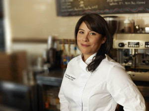 Adriana Meadath of Flur , a gluten-free bakery in Riverside, Illinois
