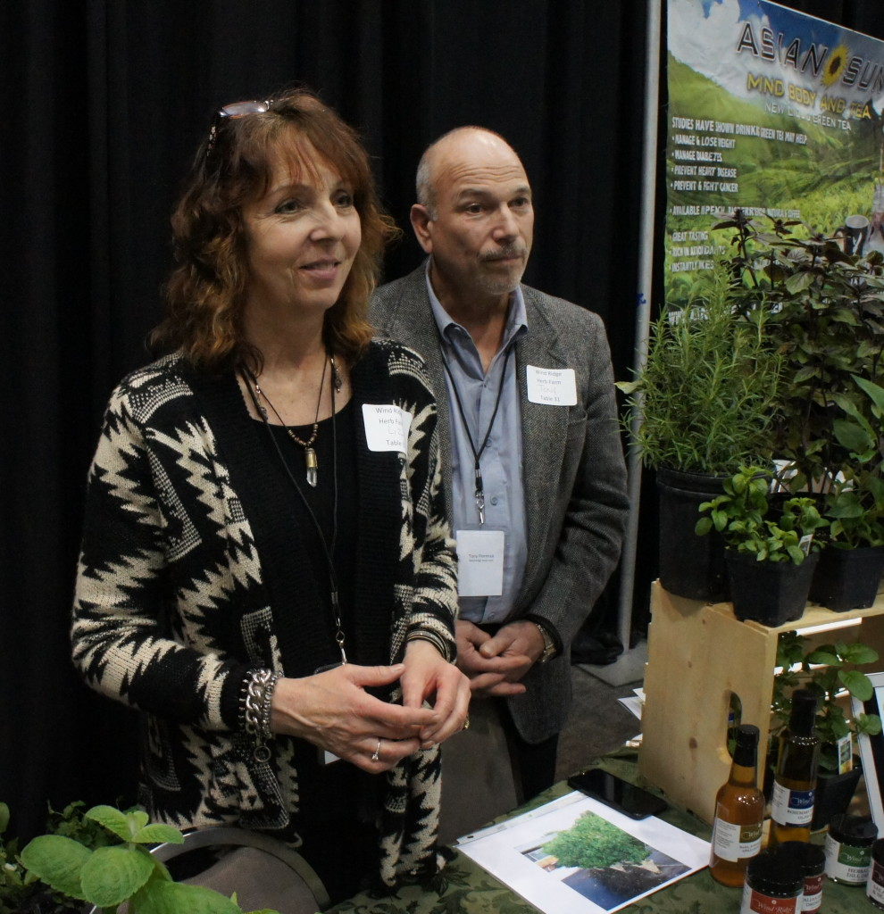 Liz and Tony Fiorenza of Wind Ridge Herb Farm