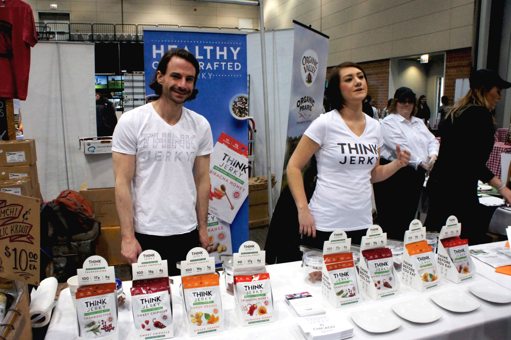 Think Jerky and CEO Ricky Hirsch (left) are redefining beef jerky with sustainable ingredients and recipes by leading chefs.