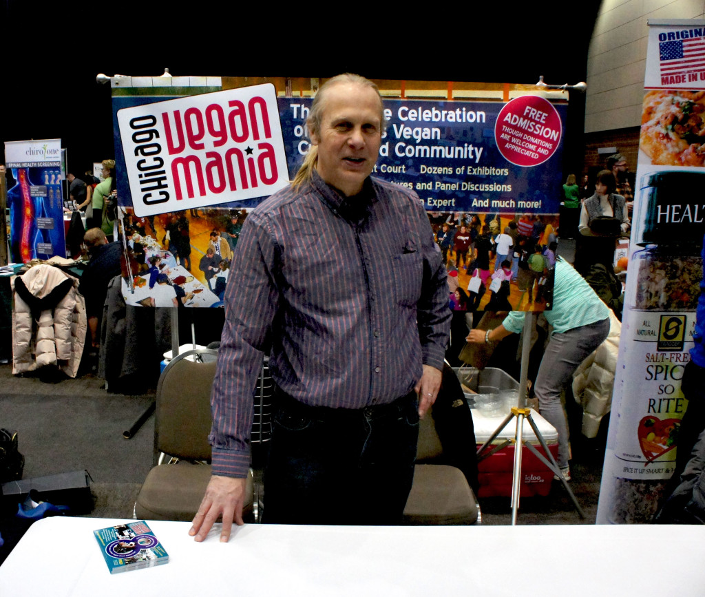 John Beske, who has a long association with the Good Food Festival and with FamilyFarmed, is an advocate of a vegan diet and produces the annual Chicago Vegan Mania event.