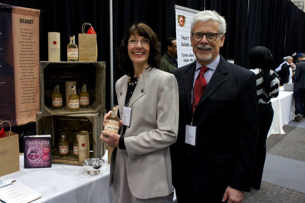 Deirdre Birmingham and John Biondi of The Cider Farm