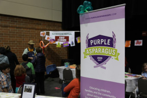 Purple Asparagus, a Chicago nonprofit that works to inspire children to develop good eating habits, is the sponsor of the Kids' Corner at FamilyFarmed's Good Food Festival, which takes place Saturday at Chicago's UIC Forum.