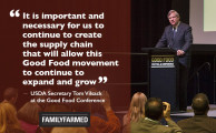 U.S. Agriculture Secretary Vilsack Embraces Good Food Movement