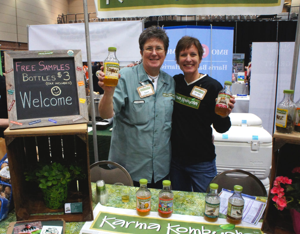 Karma Kombucha at the Good Food Festival
