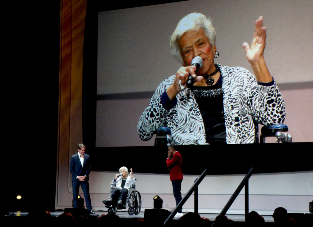 New Orleans restaurateur Leah Chase brought the 2016 James Beard Awards to life with her remarks accepting a Lifetime Achievement medallion.
