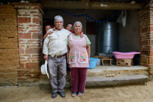 Oaxacan farmer Catarino, with his family, is a Masienda partner grower. Photo provided by Masienda.