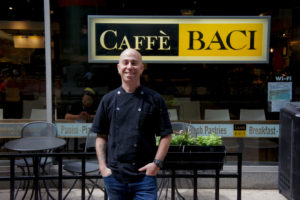 Chicago's Cleetus Friedman is executive chef for Caffè Baci's four downtown restaurants and its catering business.